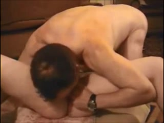 Hot babe getting fucked by oldy