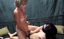 OldNannY Mature Lesbian and Strapon