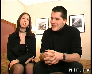 French babe hard anal fucked in her room