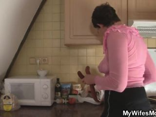Lascivious mother in law needs pecker