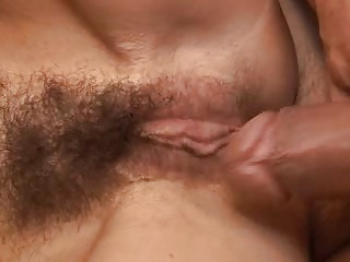 Fuck my wifes hairy pussy