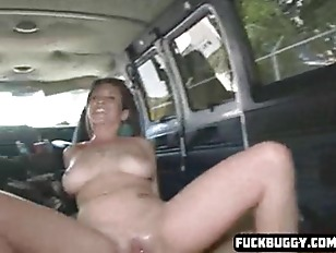 GTwo Hot Girl Get In A Van  And Fuck