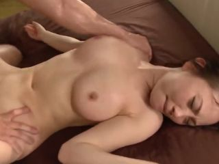 Busty Asian girl getting fucked