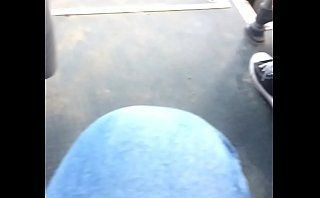 Big tits in bus