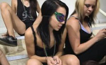 College Girls Getting Fucked With Dildos At Hazing Party