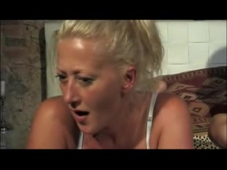 Handsome blonde fucking and getting facial