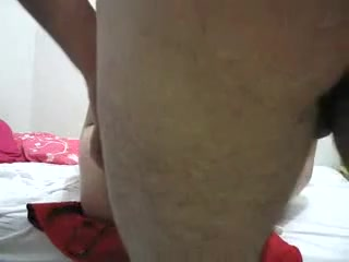 Amateur porn video showing a steamy missionary sex