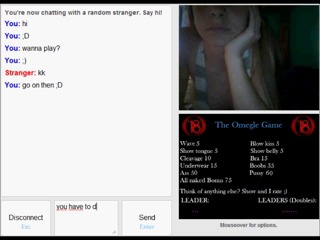 Blondie shows it all omegle