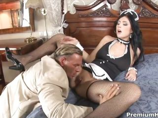 Maid Stacy Stone shows her fuck skills