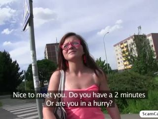 Blonde Johanna gets fucked in the public