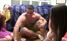 Hot women fucking in their college room