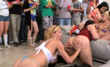 Hot college gorgeous girls getting fucked all around!