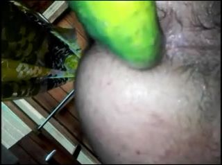 cucumber and self fuck attempt