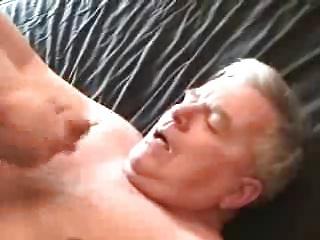 Ejaculate on man