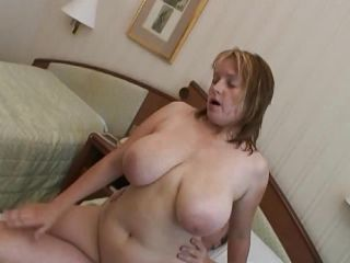 Hot mom in big natural tits mega reverse cowgirl