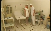 Clinic Sex Pussy Stretching