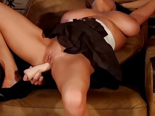 Hot European Girl Pleases Her Pussy