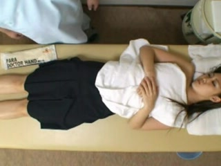 Spycam Reluctant Teengirl enticed by masseur
