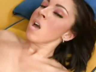 Sexy Tia Thomas gets fucked really hard in her pussy and then jizzed on