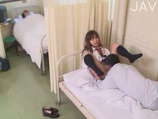Young and sexy japanese teen gets fucked on the bed