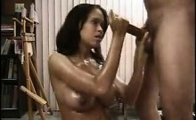 Brown-skinned girl gets fucked