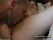Cash paid pussy fuck show