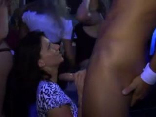Blond Chick Gets Fucked At Party