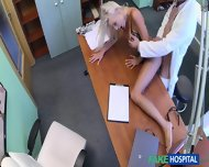 Blonde Gets Fucked By Horny Doctor