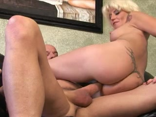 Horny blonde gets banged and fucks her lover