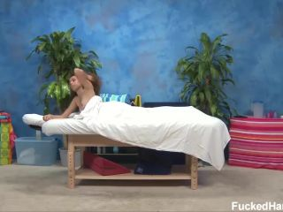 Chloe seduced and fucked hard by her massage therapist.