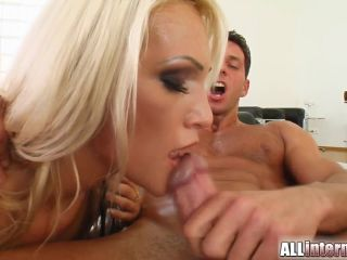 This sweet blonde gets her little pussy fucked.