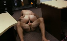 Latin chick sells her TV and fucked hard