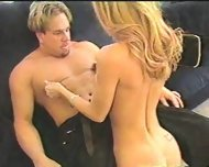 Hot blonde getting fucked