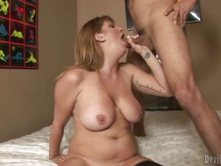 Roasting Robbye Bentley gives this dick a titty fuck