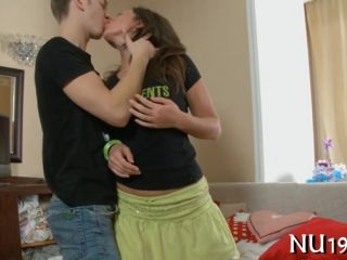 Lovely teen girl gets fucked